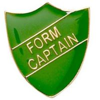 ShieldBadge Form Captain Green</br>SB016G